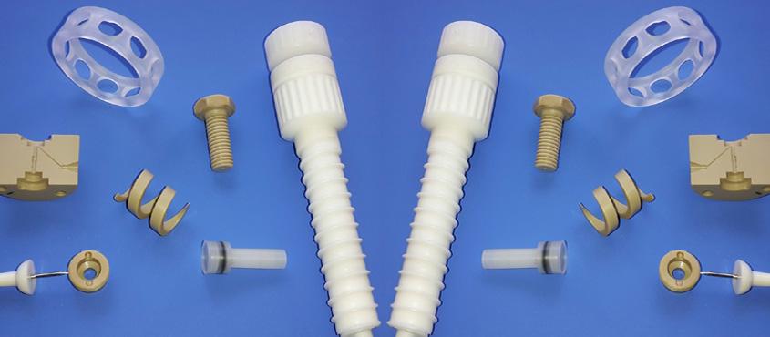 ULRAPLAST CNC Drehteile Hochtemperaturfeste High-Tech Kunststoffe
